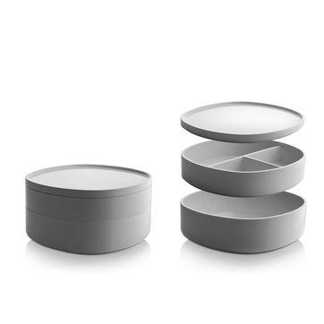 Alessi - Birillo - organizer łazienkowy - wymiary: 18 x 18 x 12 cm