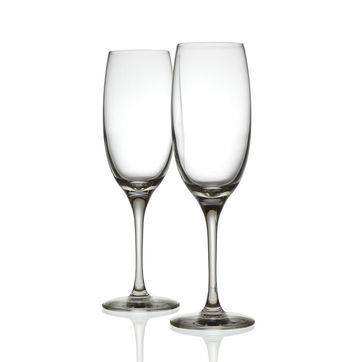 Alessi - Mami XL - 2 kieliszki do szampana - wysokość: 22 cm