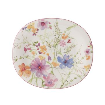 Villeroy & Boch - Mariefleur Basic - owalny talerz sałatkowy - wymiary: 23 x 19 cm