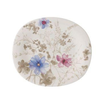 Villeroy & Boch - Mariefleur Gris Basic - owalny talerz sałatkowy - wymiary: 23 x 19 cm