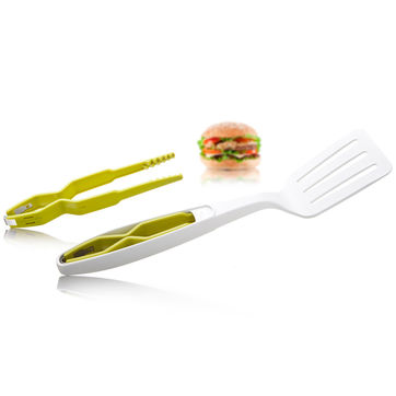 Tomorrow's Kitchen - łopatka ze szczypcami - długość: 37,5 cm