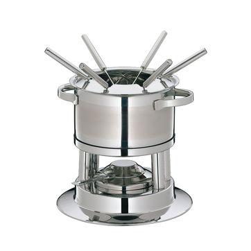Küchenprofi - Lugano - zestaw do fondue - wysokość: 17,5 cm