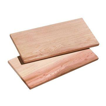 Küchenprofi - Smoky - 2 średnie deski do grilla - wymiary: 35 x 17 cm