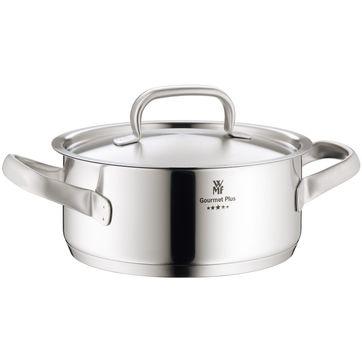 WMF - Gourmet Plus - niski garnek z pokrywką - średnica: 20 cm; pojemność: 2,5 l