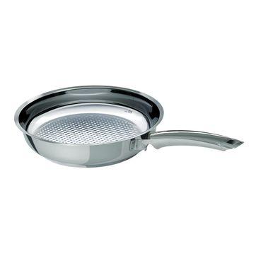 Fissler - Crispy Steelux Premium - patelnia grillowa - średnica: 28 cm