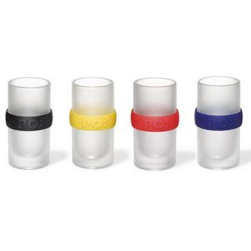 PO: - Ring - zestaw 4 kieliszków - pojemność: 55 ml