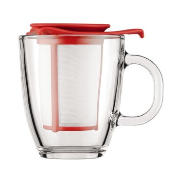 Bodum - Yo-Yo - kubek z zaparzaczem - pojemność: 0,35 l
