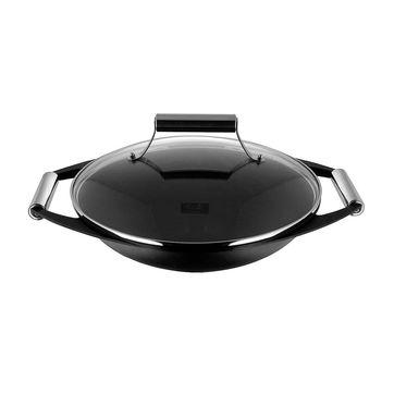 Fissler - Kanton - wok ze stopu aluminium - średnica: 34 cm