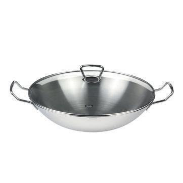 Fissler - Kunming - wok stalowy - średnica: 35 cm