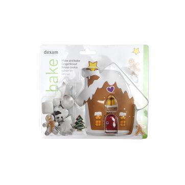 Dexam - wykrawacze do ciastek - zestaw świąteczny - 10 sztuk