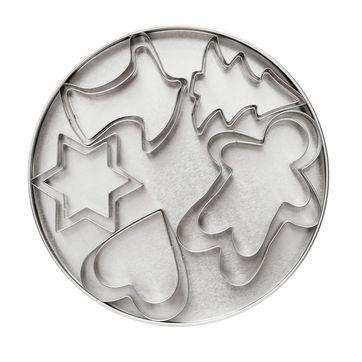 Sagaform - Christmas - zestaw wykrawaczy do ciastek - 10 sztuk