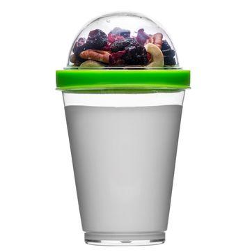 Sagaform - To Go - kubki na jogurt z pojemnikiem na musli - pojemność: 0,3 l
