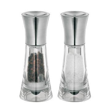 Küchenprofi - New York - zestaw młynków do soli i pieprzu - wysokość: 13 cm