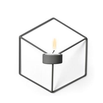 Menu - POV - świecznik naścienny - wymiary: 18,5 x 20 x 10,5 cm