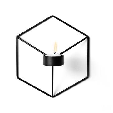 Menu - POV - świecznik naścienny - wymiary: 18,5 x 21 cm