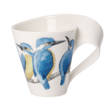 Villeroy & Boch - New Wave Caffe King Fisher - kubek w opakowaniu prezentowym - pojemność: 0,3 l