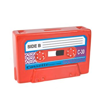 KARE Design - skarbonka kaseta - wymiary: 16 x 9,8 cm