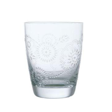 KARE Design - Iceflower - szklanka - wysokość: 9 cm