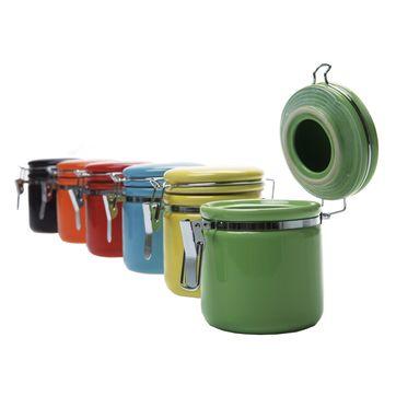 KARE Design - Daily Colore - zestaw 6 pojemników - wysokość: 9,5 cm