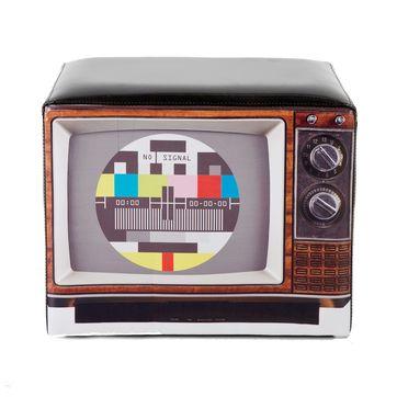 KARE Design - Television - pufa - wymiary: 45 x 35 x 35 cm