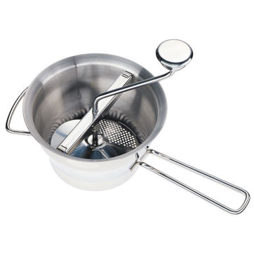 Küchenprofi - Profi - przecierak do warzyw i owoców - 4 wymienne wkłady
