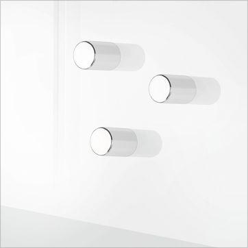 Blomus - Velio - zestaw 6 magnesów - wymiary: 1,2 x 0,7 cm
