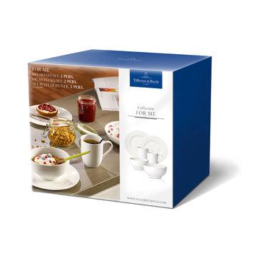 Villeroy & Boch - For Me - zestaw śniadaniowy - dla 2 osób