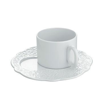 Alessi - Dressed - talerz śniadaniowy - średnica: 16 cm