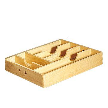 Cilio - drewniany wkład na sztućce - wymiary: 34 x 43 cm