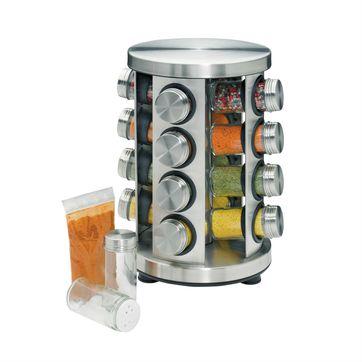 Küchenprofi - stojak na przyprawy - 16 przypraw