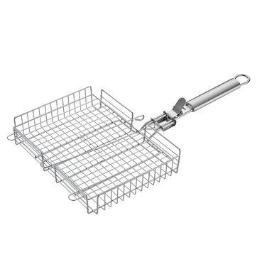 Küchenprofi - BBQ - koszyk do grillowania - wymiary: 24,5 x 31,5 x 60 cm