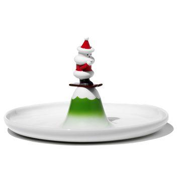 A di Alessi - Scia Natalino! - talerz na ciasto - średnica: 24 cm