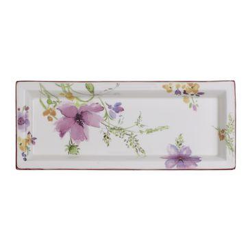 Villeroy & Boch - Mariefleur Gifts - prostokątny półmisek - wymiary: 23,5 x 9,5 cm