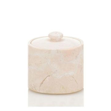 Kela - Marble - pojemnik kosmetyczny - średnica: 9,5 cm