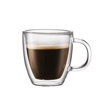 Bodum - Bistro - kubek do kawy o podwójnych ściankach - pojemność: 0,15 l