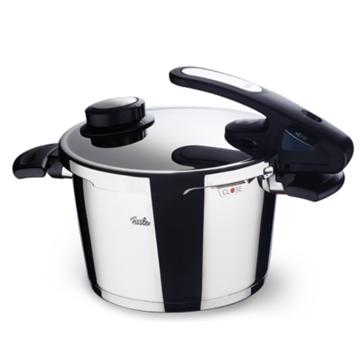 Fissler - Vitavit Edition design - szybkowary z wkładami do gotowania na parze