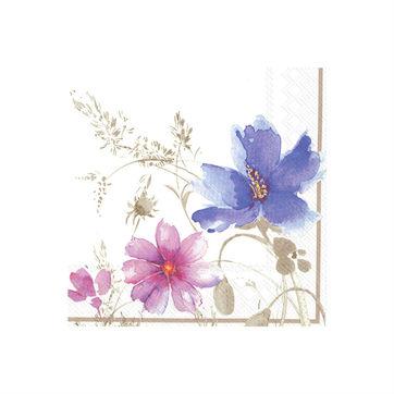 Villeroy & Boch - Mariefleur Gris - serwetki papierowe - wymiary: 33 x 33 cm