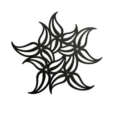 Koziol - Flame - podkładka pod gorące naczynia - wymiary: 24,5 x 24,5 cm