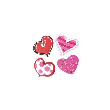 Dexam - zestaw 4 magnesów - serca