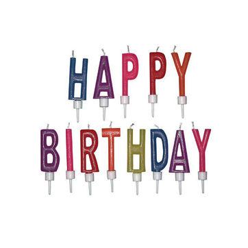 Dexam - świeczki urodzinowe Happy Birthday - 13 sztuk