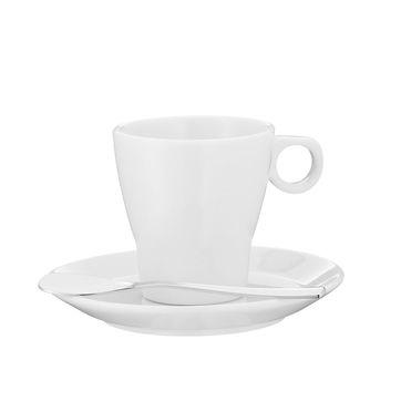 WMF - Barista - filiżanka do espresso ze spodkiem i łyżeczką - pojemność: 0,06 l