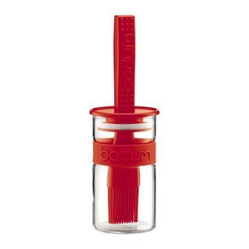 Bodum - Bistro - pojemnik do marynaty z pędzelkiem - pojemność: 0,25 l
