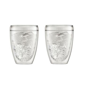 Bodum - Pavina Outdoor - 2 szklanki o podwójnych ściankach - pojemność: 0,35 l
