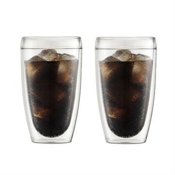 Bodum - Pavina Outdoor - 2 szklanki o podwójnych ściankach - pojemność: 0,45 l