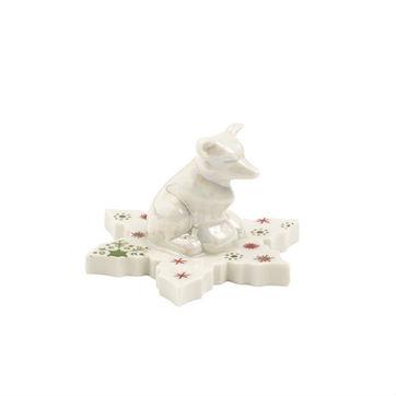 Villeroy & Boch - NewModern Christmas - lis na płatku śniegu - wysokość: 4,5 cm