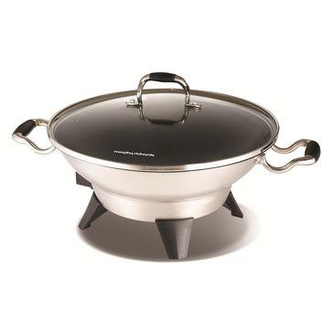 Morphy Richards - Supreme Precision - wok elektryczny - pojemność: 4,5 l
