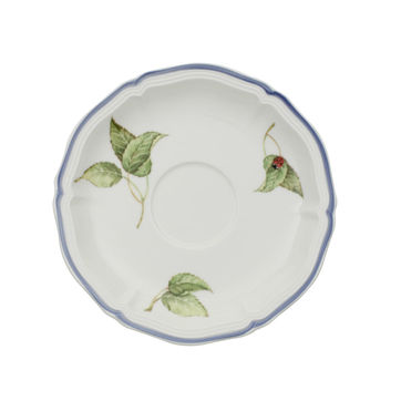 Villeroy & Boch - Cottage - spodek do filiżanki do herbaty - średnica: 15 cm