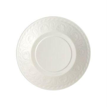 Villeroy & Boch - Cellini - spodek do filiżanki śniadaniowej lub bulionówki - średnica: 18 cm