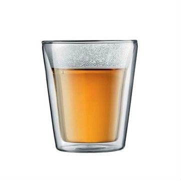 Bodum - Canteen - 2 szklanki o podwójnych ściankach - pojemność: 0,2 l