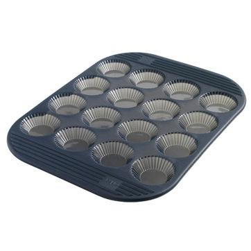 Mastrad - silikonowa forma na 16 tartaletek - wymiary: 30 x 24 cm